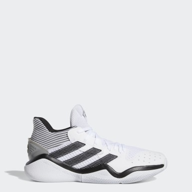 Basketball White Harden Stepback Shoes