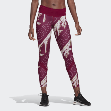 Leggings Club Own the Run Roxo Mulher Running