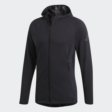 Men Training Grey FreeLift Climacool Hoodie
