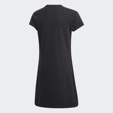 Mädchen Originals Skater Kleid Schwarz