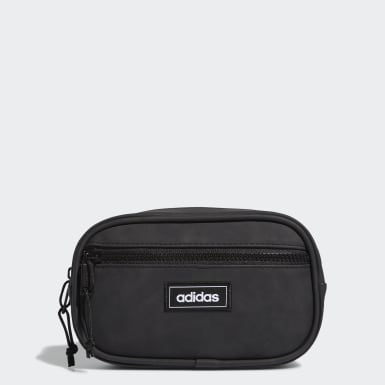 Essentials Black Suede Waistpack