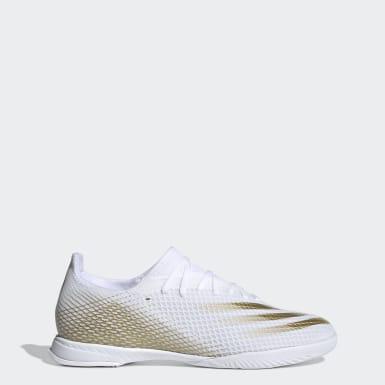 Zapatos de fútbol X Ghosted.3 Cancha Cubierta Blanco Hombre Fútbol