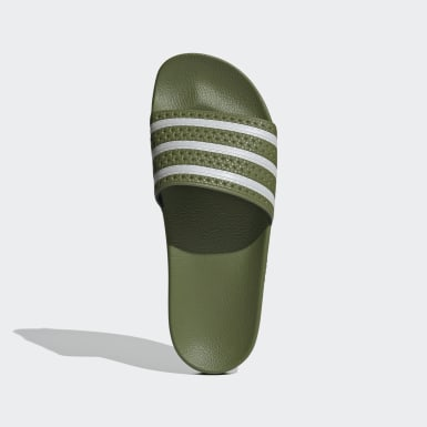 Originals groen Adilette Badslippers