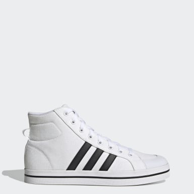 Men Sport Inspired White Bravada Mid Shoes
