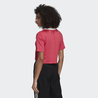 Dames Originals roze Crop Top