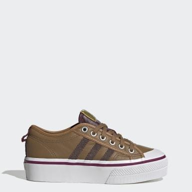 Kvinder Originals Brun Nizza Armorer sko