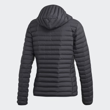Ženy Mestský Outdoor Siva Bunda Varilite Soft Hooded