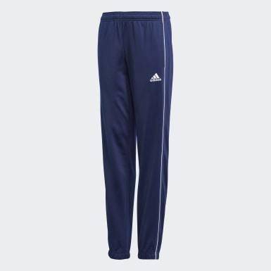 Pantalon Core 18 Bleu Enfants Football