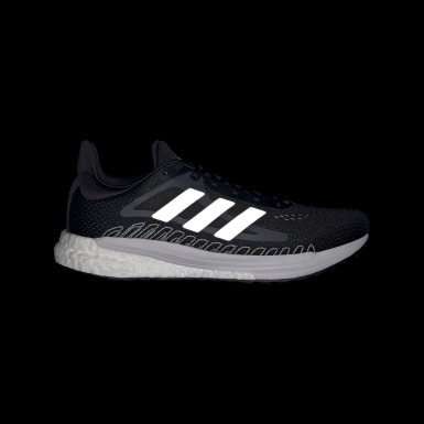 Dames Hardlopen Zwart SolarGlide Schoenen
