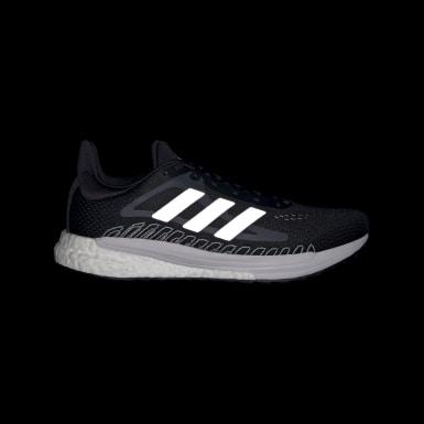 Kvinder Løb Sort SolarGlide sko