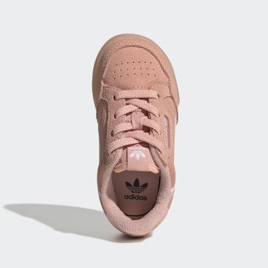Girls Originals Pink Continental 80 sko