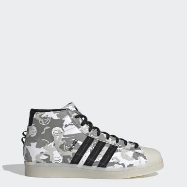 Men Originals White Pro Model Shoes