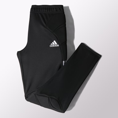 Men Training Black Tierro 13 Goalkeeper Pants