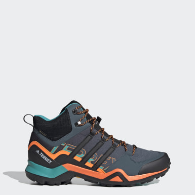 Herr TERREX Blå Terrex Swift R2 Mid GORE-TEX Hiking Shoes