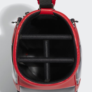 Men Golf Red Lightweight Slim Caddie Bag