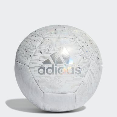 Men's Soccer White adidas Capitano Ball