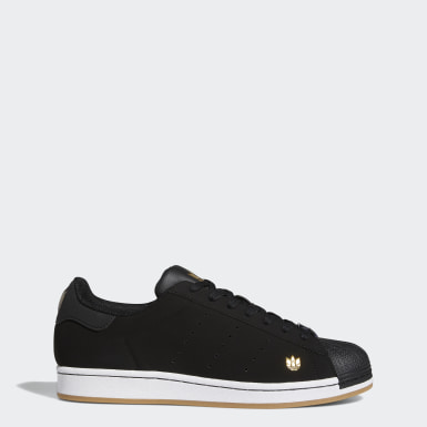 Men's Originals Black Superstar Pure Shoes