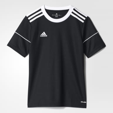 Youth 8-16 Years Training Black Squadra 17 Jersey