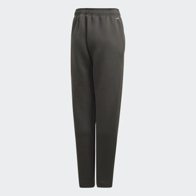 Youth Training Green Climawarm Tapered Pants