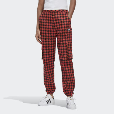 Women Originals Red R.Y.V. Cargo Pants