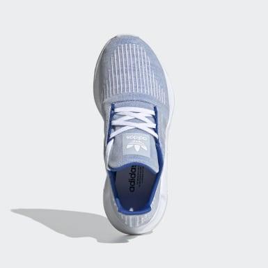 Chaussure Swift Run Bleu Enfants Originals