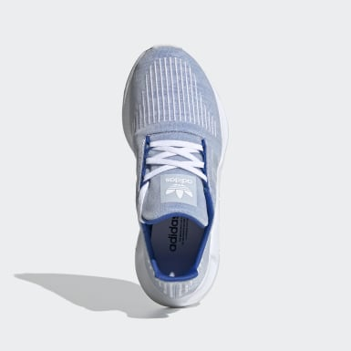 Youth 8-16 Years Originals Blue Swift Run Shoes