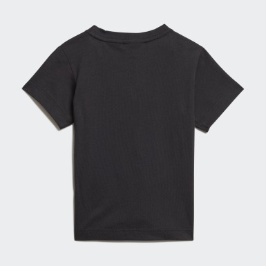 Camiseta Deportiva Goofy Negro Niño Originals