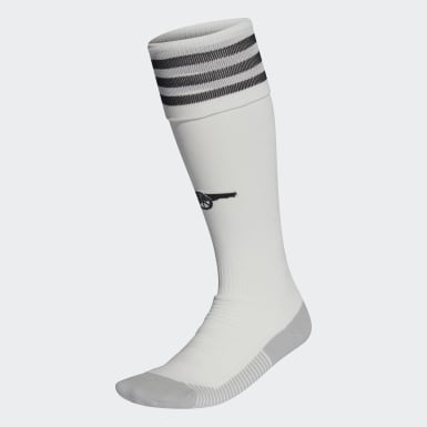 Football White Arsenal Away Socks
