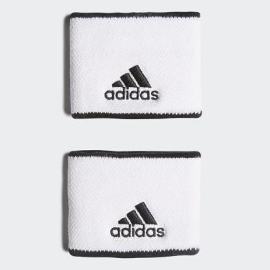 Tennis håndleddsbånd, lite Hvit