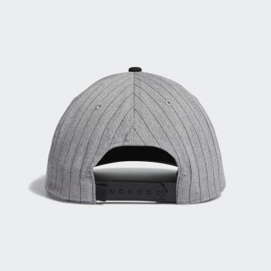 Men's Golf Grey Pinstripe Hat