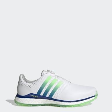 ผู้ชาย กอล์ฟ สีขาว รองเท้ากอล์ฟ TOUR360 XT-SL Boa 2.0