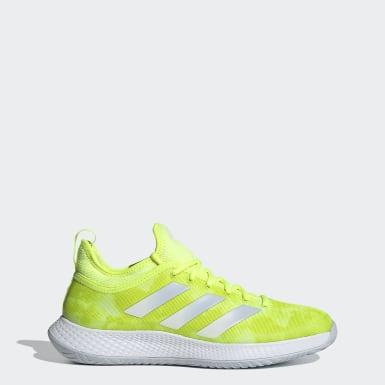 Men Tennis Yellow Defiant Generation Multicourt Tennis Shoes