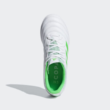 белый Футбольные бутсы Copa 19.3 TF