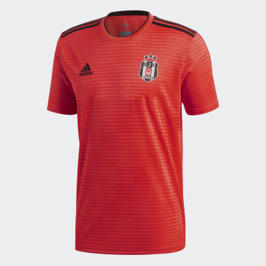 Men Football Burgundy Beşiktaş JK Away Jersey