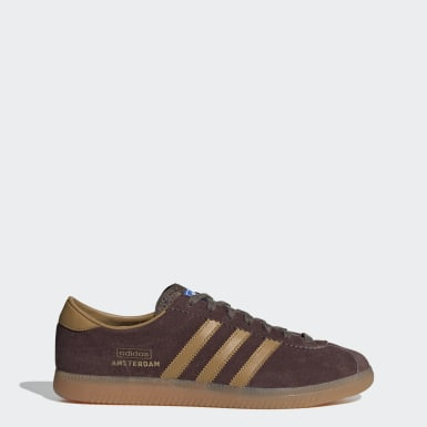 Chaussure Amsterdam Marron Originals