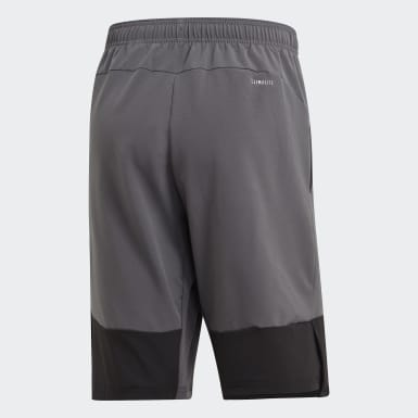 Männer Yoga 4KRFT Tech 10-Inch Elevated  Shorts Grau