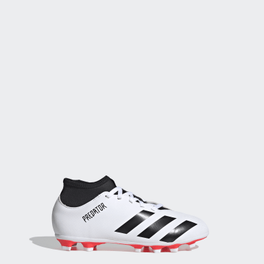 Calzado de Fútbol Predator 20.4 S Multiterreno Blanco Niño Fútbol