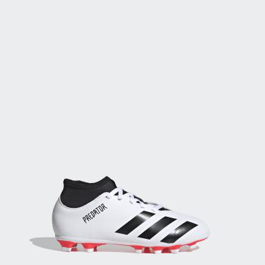 Zapatos de fútbol Predator 20.4 S Multiterreno Blanco Niño Fútbol