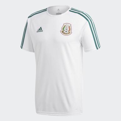 Jersey Segundo Uniforme Selección Nacional de México Seguidores Blanco Hombre Fútbol