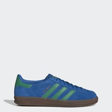 Kvinder Originals Blå Gazelle Indoor sko