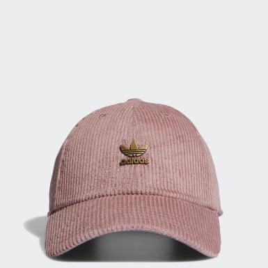 Women Originals Pink Relaxed Metal Hat