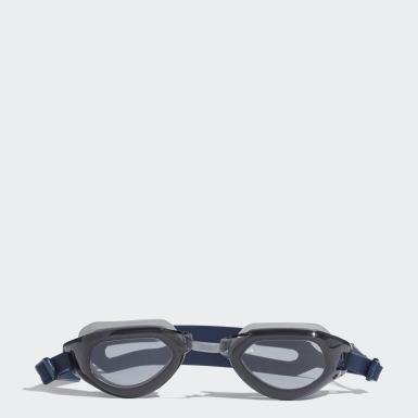 Zimní Sporty modrá Plavecké brýle adidas persistar fit unmirrored