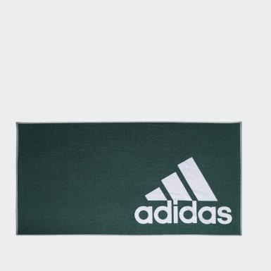 Schwimmen adidas Handtuch L Grün
