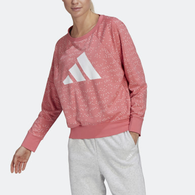 Dames Athletics Roze adidas Sportswear Winners Badge of Sport Sweatshirt