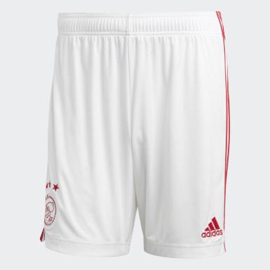 Calções Principais do Ajax Amsterdam Branco Futebol