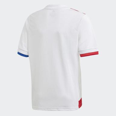 Kinder Fußball Olympique Lyon 20/21 Heimtrikot Weiß