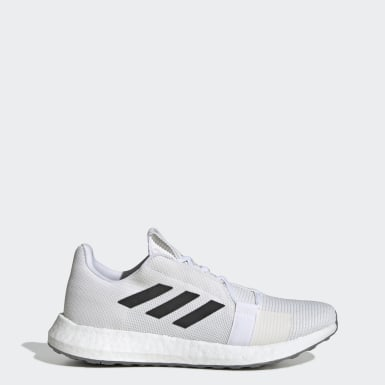Men's Running White Senseboost GO Shoes