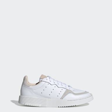 Kids Originals White Supercourt Shoes