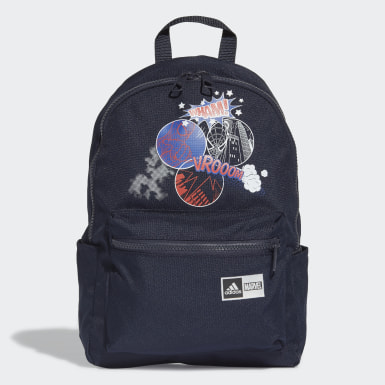 Kids 4-8 Years Running Blue Spider-Man Graphic Backpack
