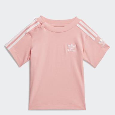 Kids Originals Pink New Icon Tee